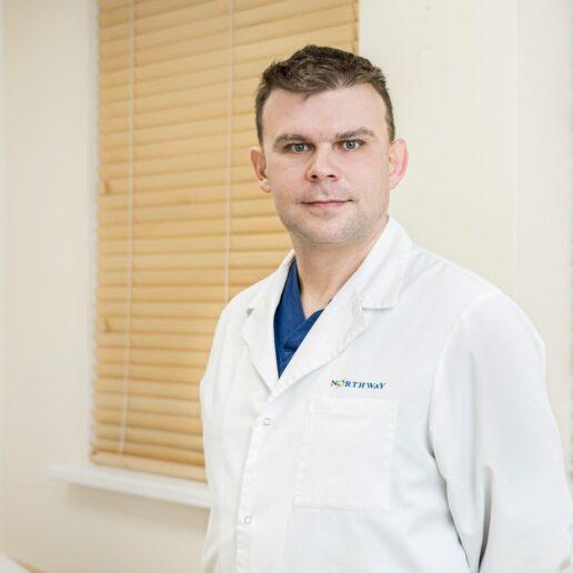 Northway šeimos Gydytojas Valerijus Morozovas