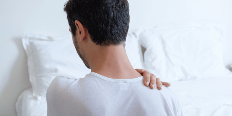 Deginantis krutu skausmas